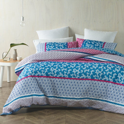 Papillion Quilted Quilt Cover Set - Baines Manchester