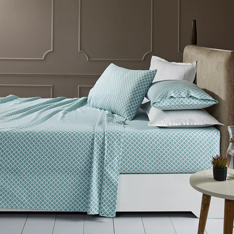 Patterned Luxury Flannelette Sheet Sets - Baines Manchester