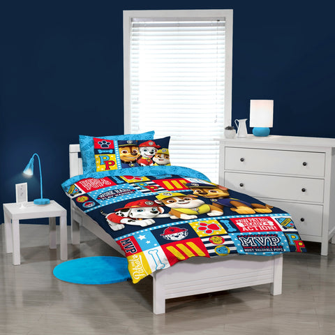 Paw Patrol Ready 4 Action Quilt Cover Set