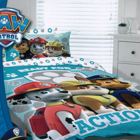 Paw Patrol Ready for Action Quilt Cover Set - Baines Manchester