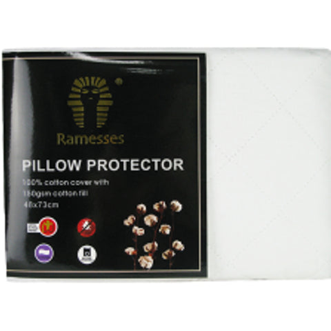 Ramesses Cotton Pillow Protector - Baines Manchester