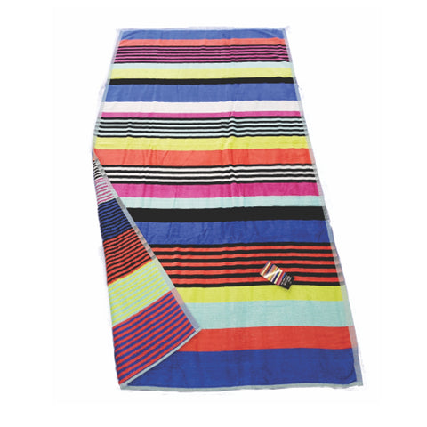 Reversible Egyptian Cotton Beach Towel - 3 colours - Baines Manchester