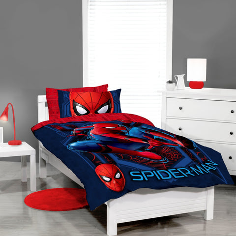 Spider Man Quilt Cover Set