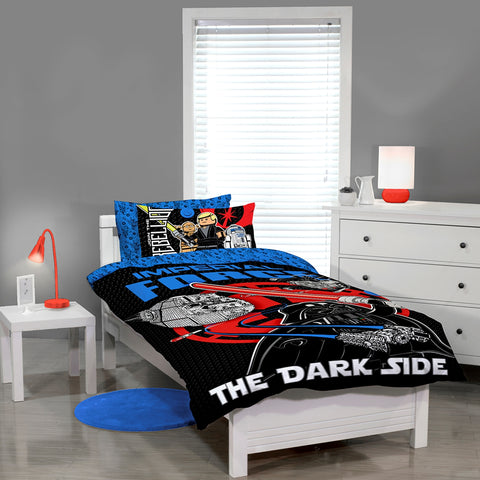 Star Wars Lego Quilt Cover Set