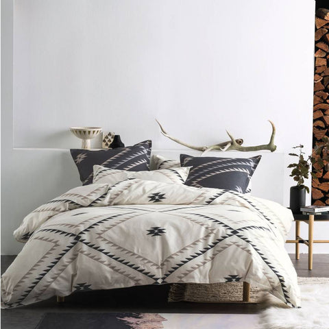 Tahoma Ivory Quilt Cover Set