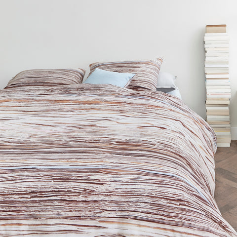 Tell Natural Quilt Cover Set - Baines Manchester