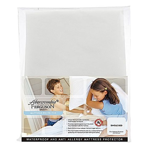 Waterproof & Anti Allergy Fitted Mattress Protector - Baines Manchester