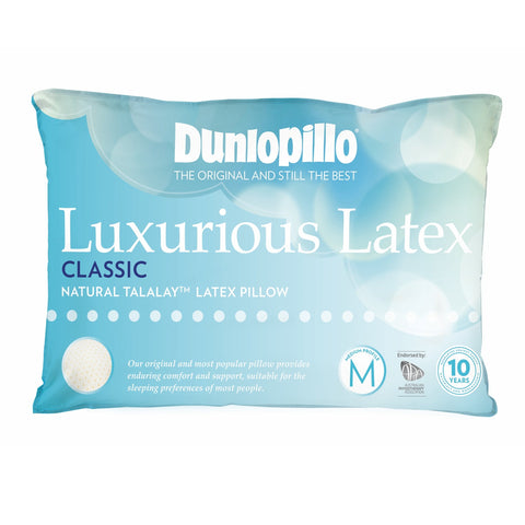 Classic Dunlopillo Talalay™ Latex Pillow - Baines Manchester