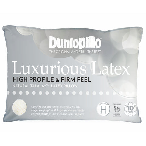 High Profile Dunlopillo Talalay™ Latex Pillow