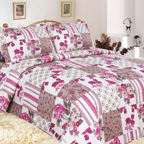 Granada Quilted Coverlet Set - Baines Manchester