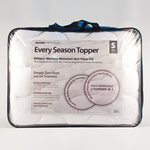 Every Season Reversible Topper - Baines Manchester