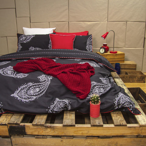 Paize Ink Quilt Cover Set