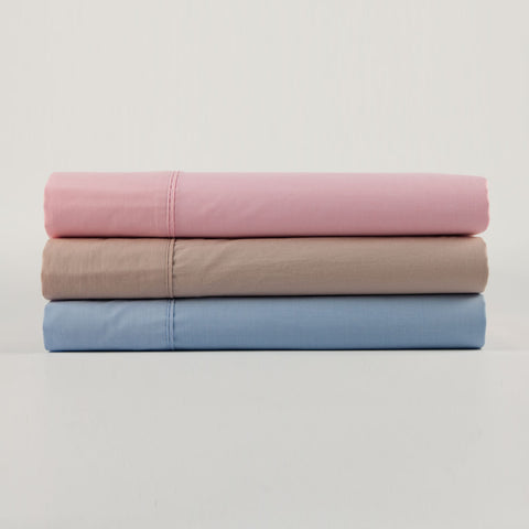 Kingdom Percale Sheet Set Range - Baines Manchester