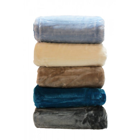 2 Ply Plain Minklon Blanket