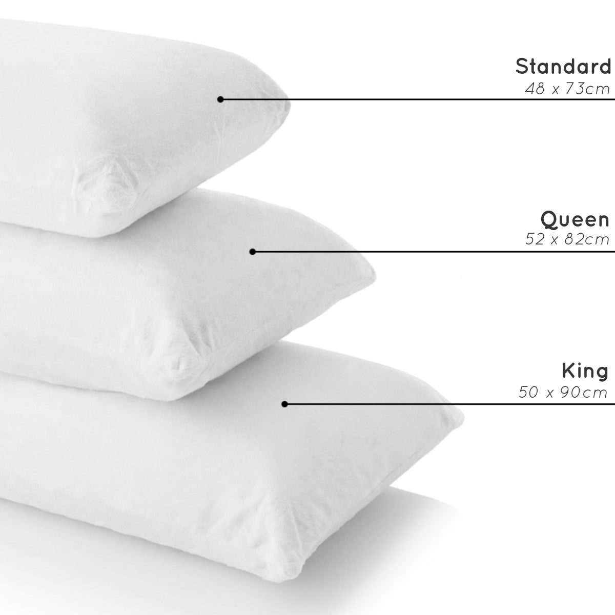Queen Size Pillowcase | Baines Manchester on double size, king size, queen size, standard pattern, twin flat sheet size, euro sham size, standard color, crib sheet size, twin fitted sheet size, blanket size, pillow size,