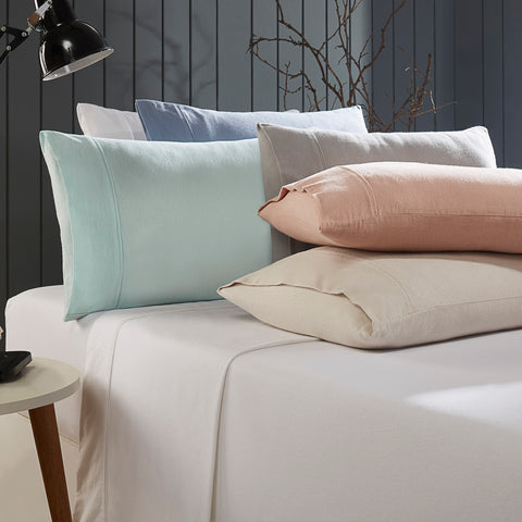 Plain Luxury Flannelette Sheet Sets - Baines Manchester