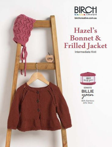 Hazel Bonnet Jacket free pattern JGC Birch