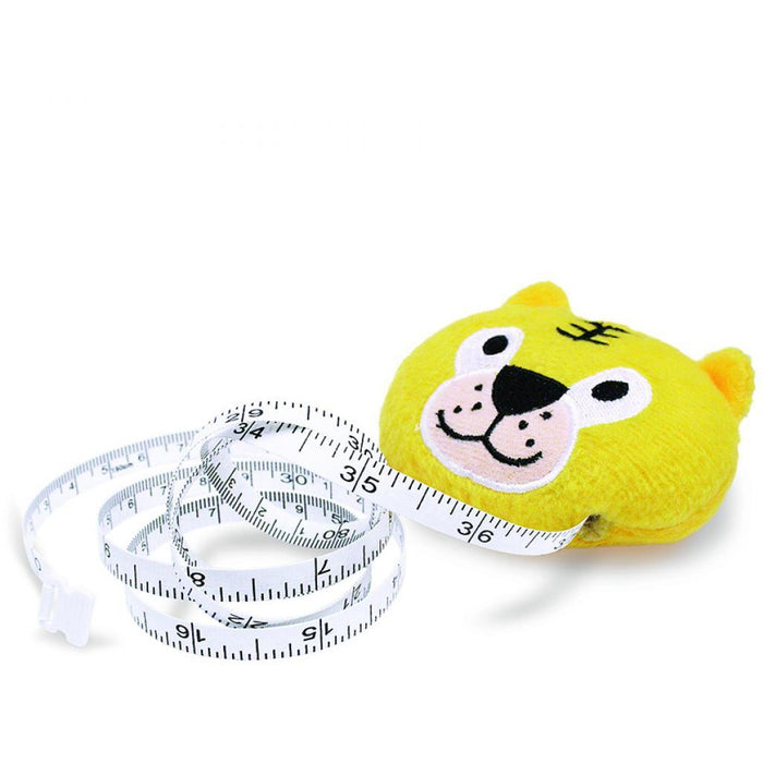 Plush Novelty Tiger Tape Measure