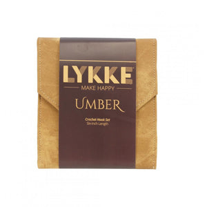 Lykke - Make Happy - UMBER - Crochet Hook Set - 6-inch Length - buy from J G Creations (Australia)