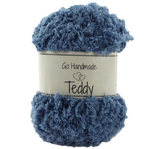 Go Handmade - Teddy Yarn 100% Polyester - Choice of Colours - 50g/65m Ball