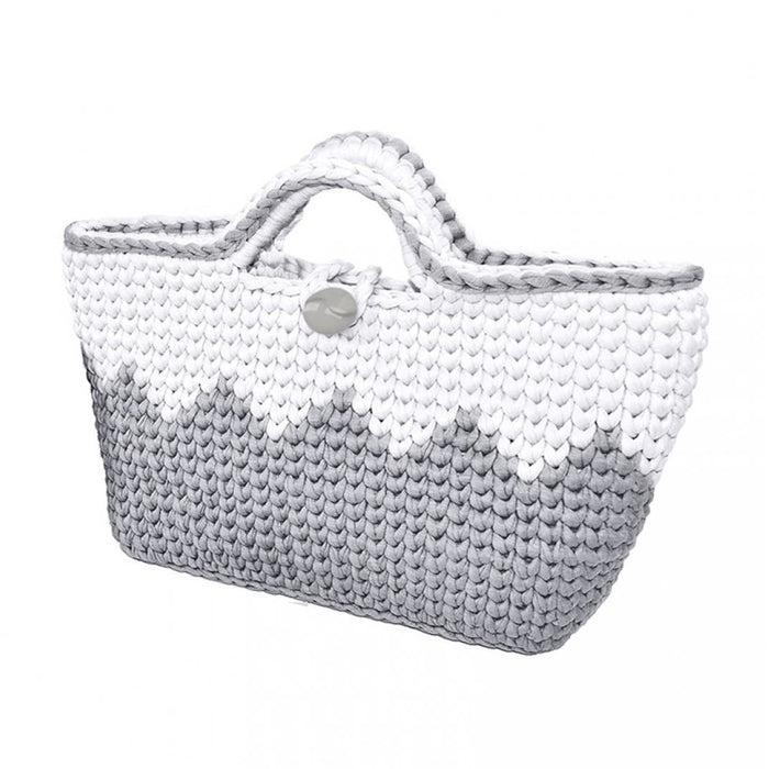 "Zig Zag Bag Kit - Make Your Own Projects - Crochet Bag Kit - ""Retwisst"" Environmentally Friendly"