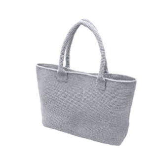 "DIY Grey Casual Bag Kit - Make Your Own Projects - Crochet Bag Kit - ""Retwisst"" Environmentally Friendly - buy from J G Creations (Australia)"