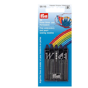 Prym 25 Fine Embroidery and Pearl Sewing Needles