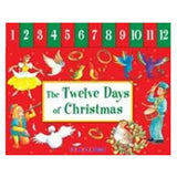 Twelve Days Of Christmas  - Tabbed Board Book - Bill Bolton Illustrator