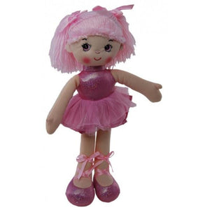 Ballerina Doll in Pink - Choice of Miss Emma or Jo 35cm - buy from J G Creations (Australia)
