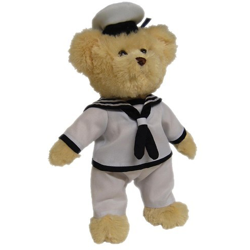 Tic Toc Teddies Sailor Skip 30cm - Limited Edition