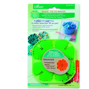 Clover Quick Yo Yo Maker Small Shamrock Shape (Pom Pom) 8712