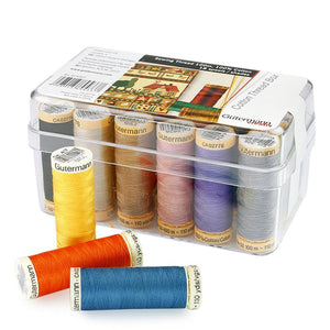 Gutermann 100M Cotton Multipack Box 18 - buy from J G Creations (Australia)
