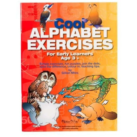 Cool Alphabet Exercises For Early Learners Age 3+