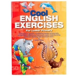 Cool English Exercises For Lower Primary - buy from J G Creations (Australia)