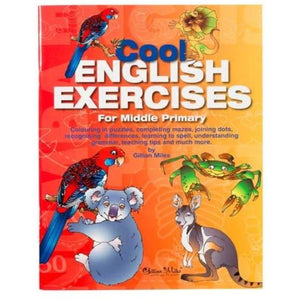 Cool English Exercises For Middle Primary - buy from J G Creations (Australia)