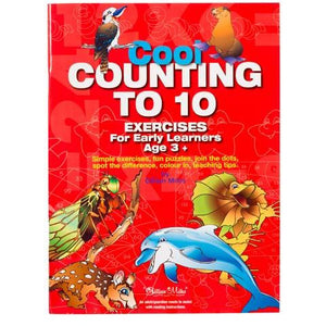 Cool Counting to 10 Exercises For Early Learners - buy from J G Creations (Australia)
