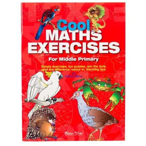 Cool Maths Exercises For Middle Primary - buy from J G Creations (Australia)