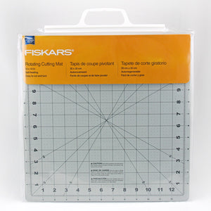 "Fiskars Rotating Cutting Mat 14""x14"" (35cm x 35cm)"
