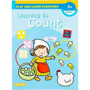 Play and Learn - Learning to Count Exercises - buy from J G Creations (Australia)