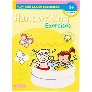 Play & Learn Exercises - Handwriting Exercises Workbooks 1-4 (Sold Individually)