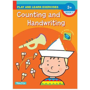 Play and Learn Exercises - Counting and Handwriting - buy from J G Creations (Australia)