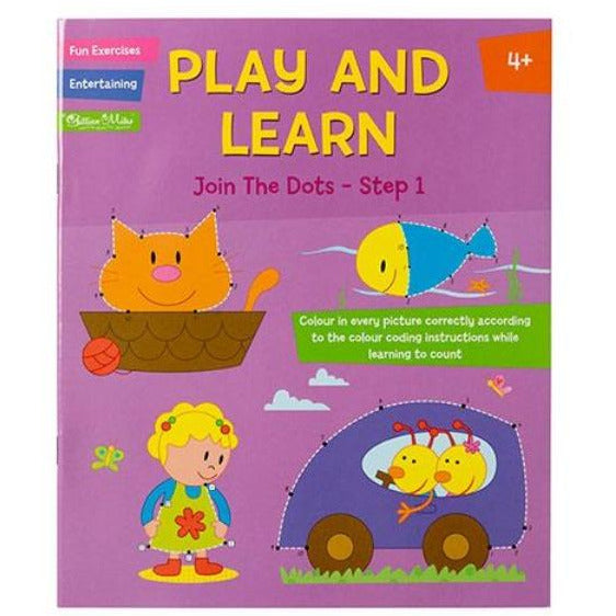 Play and Learn Join the Dots - Step 1 - Ages 4+
