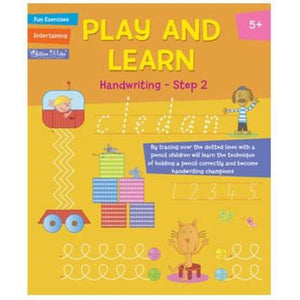 Play and Learn - Handwriting - Step 1 - buy from J G Creations (Australia)