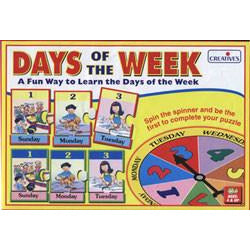 Days of the Week - Game - buy from J G Creations (Australia)