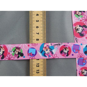 Minnie Mouse Grossgrain Ribbon - buy from J G Creations (Australia)