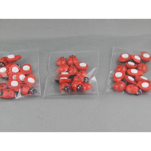 Wooden Ladybirds - buy from J G Creations (Australia)