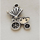 Charms Silver Toned Baby Theme - buy from J G Creations (Australia)