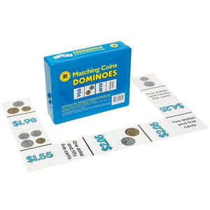 Money Dominoes Australian Coins