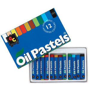 Oil Pastels -  Pack of 12