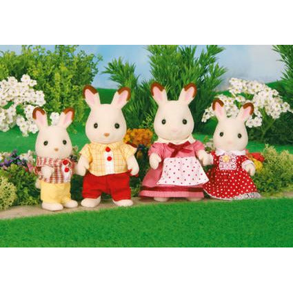 Sylvanian Families Chocolate Rabbit Range